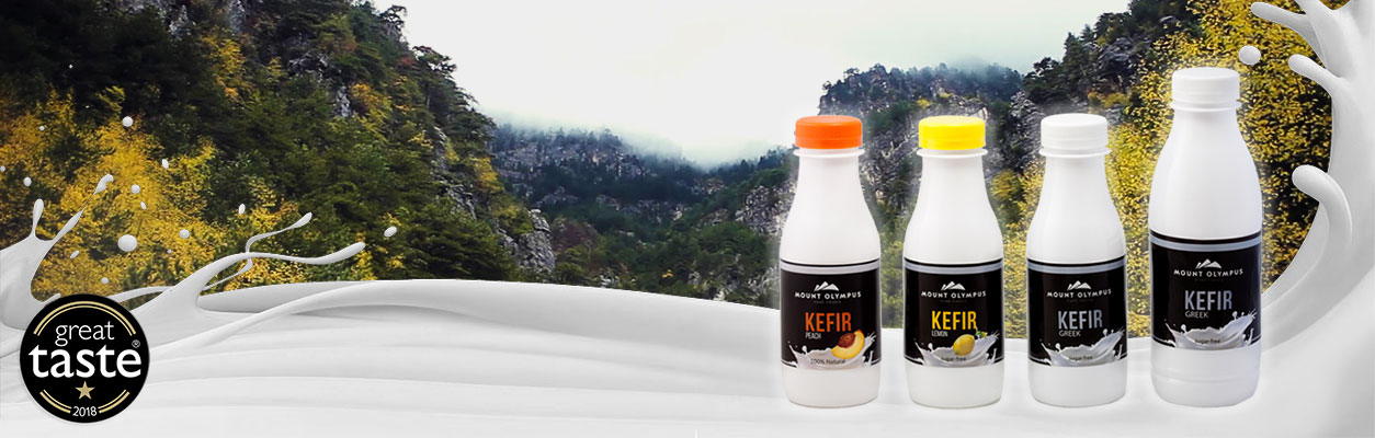 natural kefir from cows milk